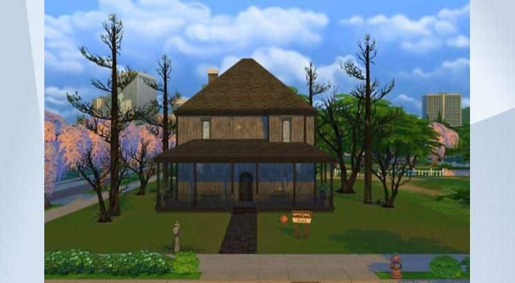 The Monster House, Mr. Horace Nebbercracker's House, Sims 4