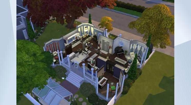 Mrs. Doubtfire, Hillard's House, Sims 4