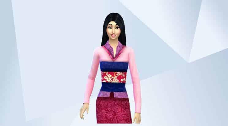 Mulan, Sims 4