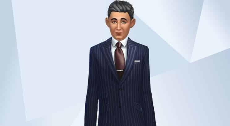 Nicolas Sarkozy, Sims 4