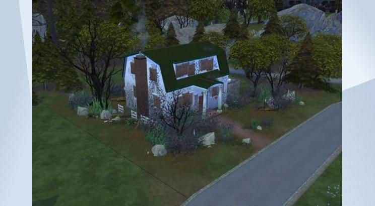 Nightmare on Elm Street, Nancy Thompson's House, Sims 4