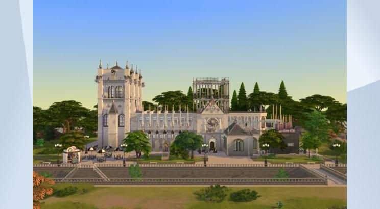 Notre Dame De Paris, France, Sims 4