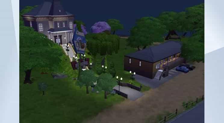 Psycho, Bates Motel, Sims 4