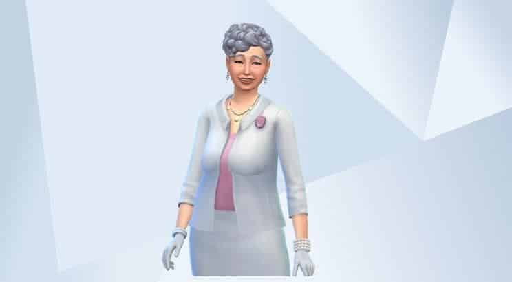 Queen Elizabeth II, Sims 4