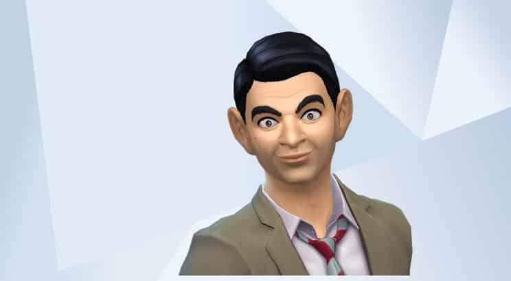 Rowan Atkinson, Sims 4