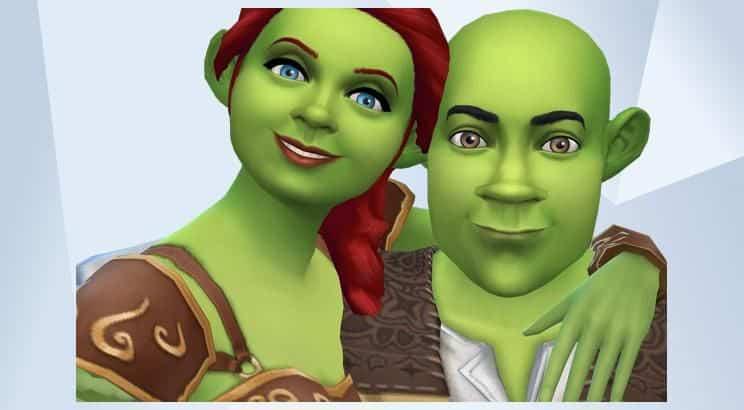Shrek, Sims 4a