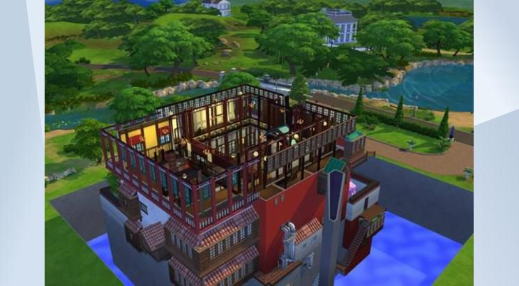 Spirited Away, The Bathhouse, Sims 4