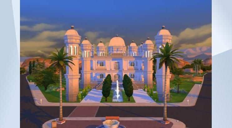 Taj Mahal, India, Sims 4