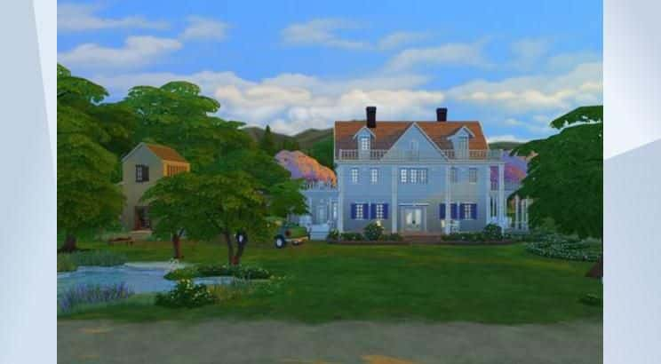 The Notebook, Noah's & Allie's House, Sims 4