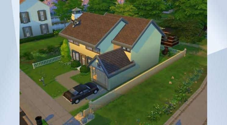 The Simpsons, Homer's & Marge' House, Sims 4