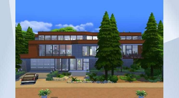 Twilight, Cullen's House, Sims 4
