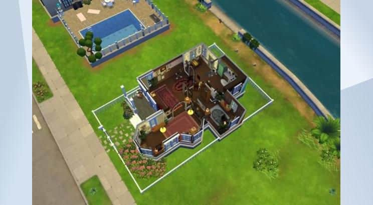 Up, Carl's &Ellie's Fredricksen House, Sims 4