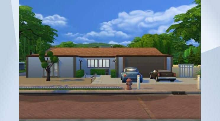 Walter White's House, Breaking Bad, Sims 4