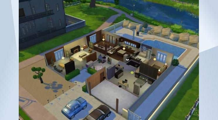 sims-4-walter-white-house-breaking-bad-inside | Altar of Gaming