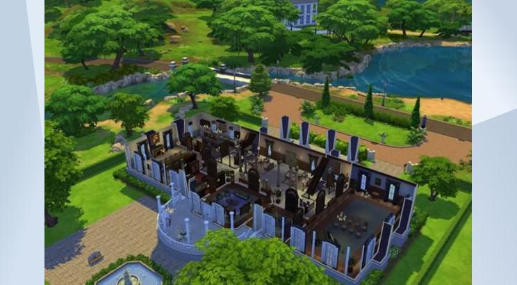 The White House, USA, Sims 4