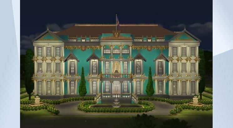 Winter Palace, Russia, Sims 4