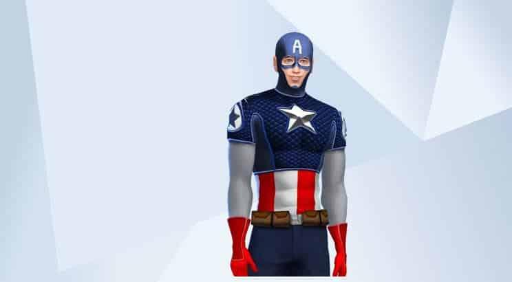 Captain America, Sims 4