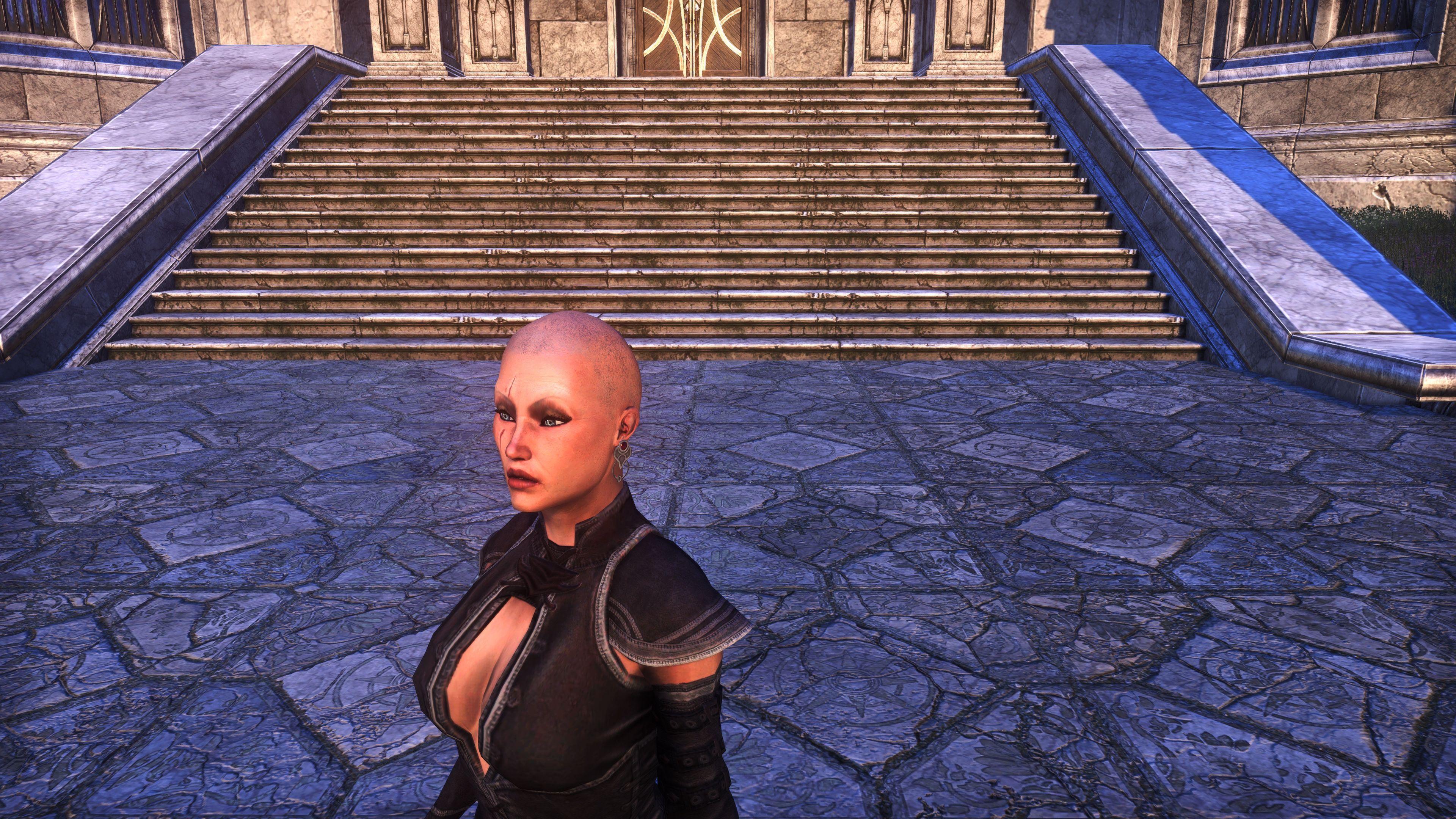 Bronze Color Eyeshadow (Appearance > Facial Hair), Psijic Vault Crate, The Elder Scrolls Online
