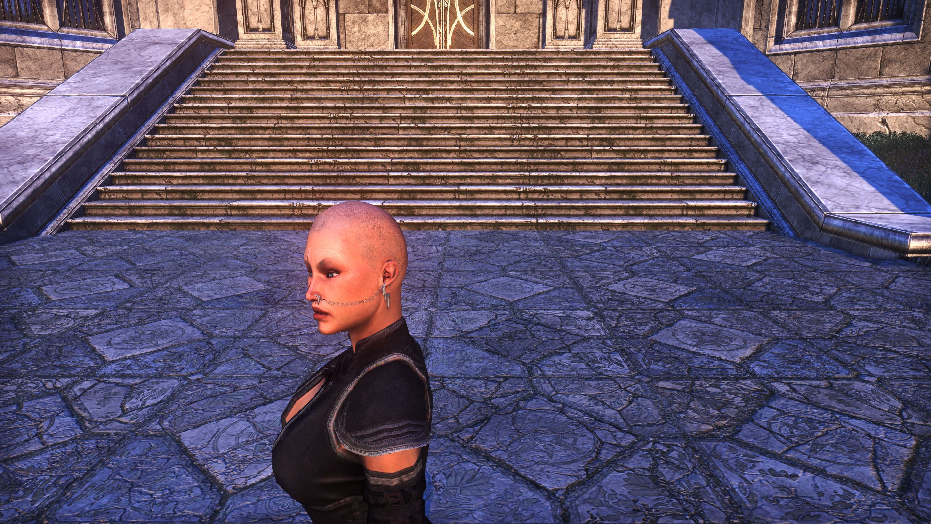 """Chained Wrath"" Piercings (Appearance > Minor Adornments), Psijic Vault Crate, The Elder Scrolls Online"