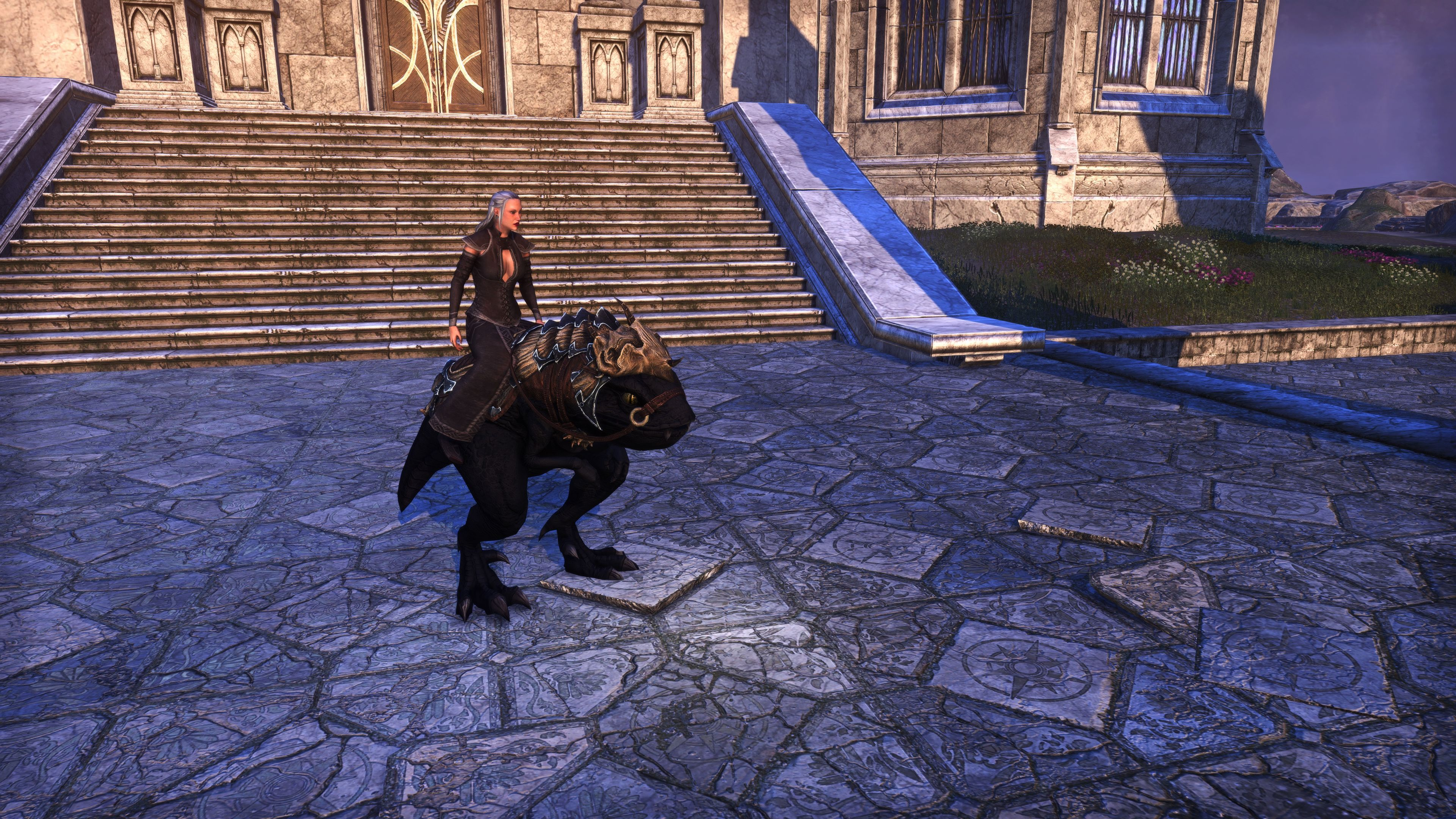"Dragonscale Barded Guar ""Guargoth"" (Mount), Psijic Vault Crate, The Elder Scrolls Online"