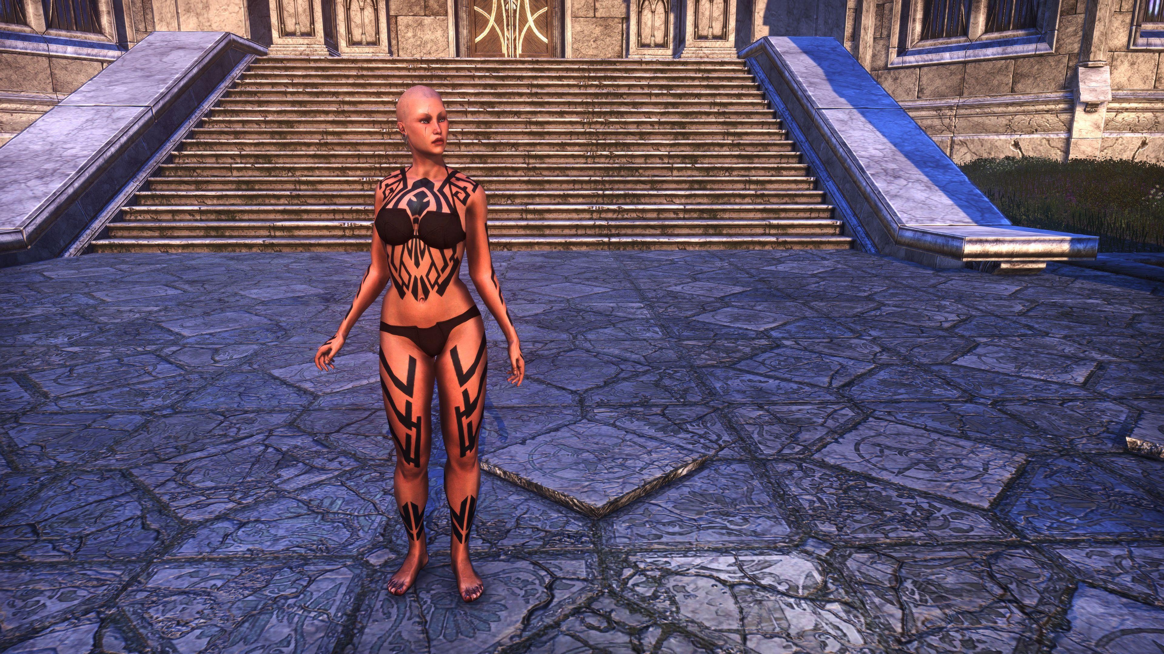 Dwarven Centurion Body Tattoos (Appearance > Body Markings), Psijic Vault Crate, The Elder Scrolls Online