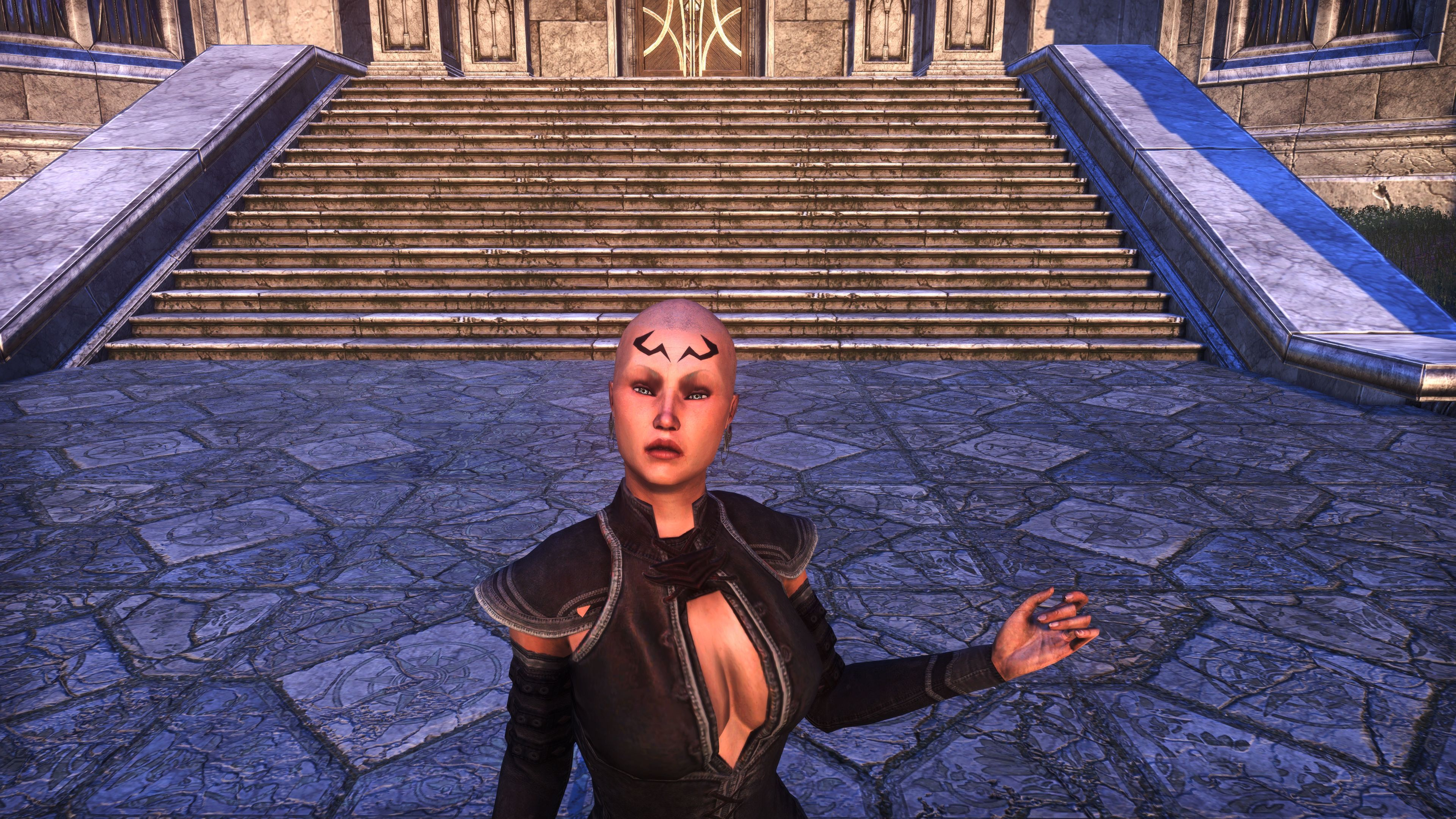 Dwarven Geometry Face Markings (Appearance > Face Markings), Psijic Vault Crate, The Elder Scrolls Online