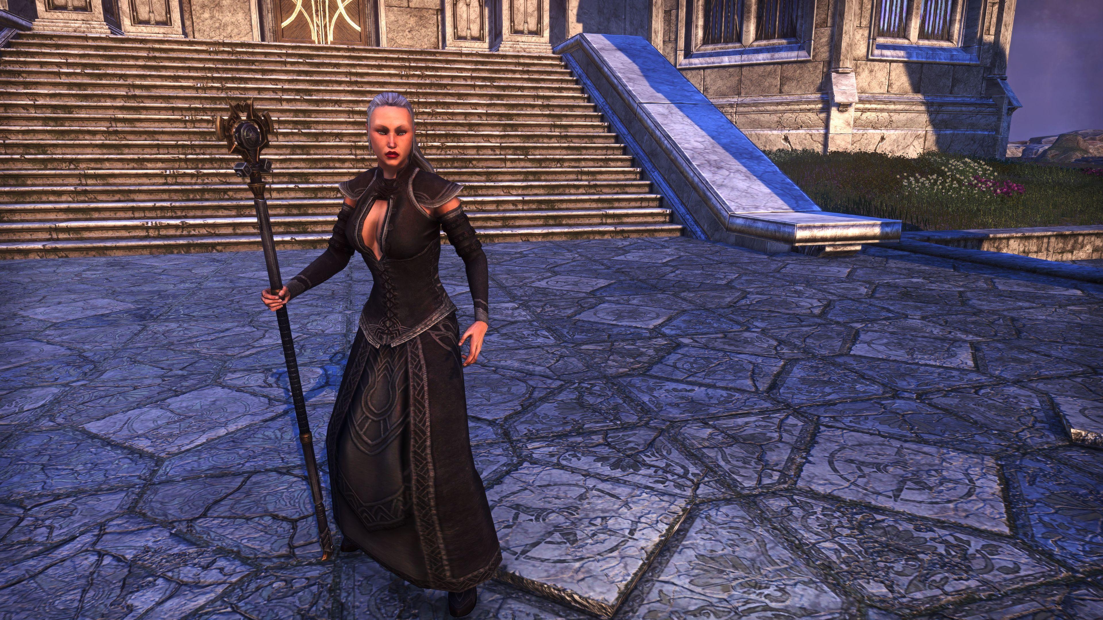 Dwarven Remnant Staff (Weapon Styles > Staff), Psijic Vault Crate, The Elder Scrolls Online