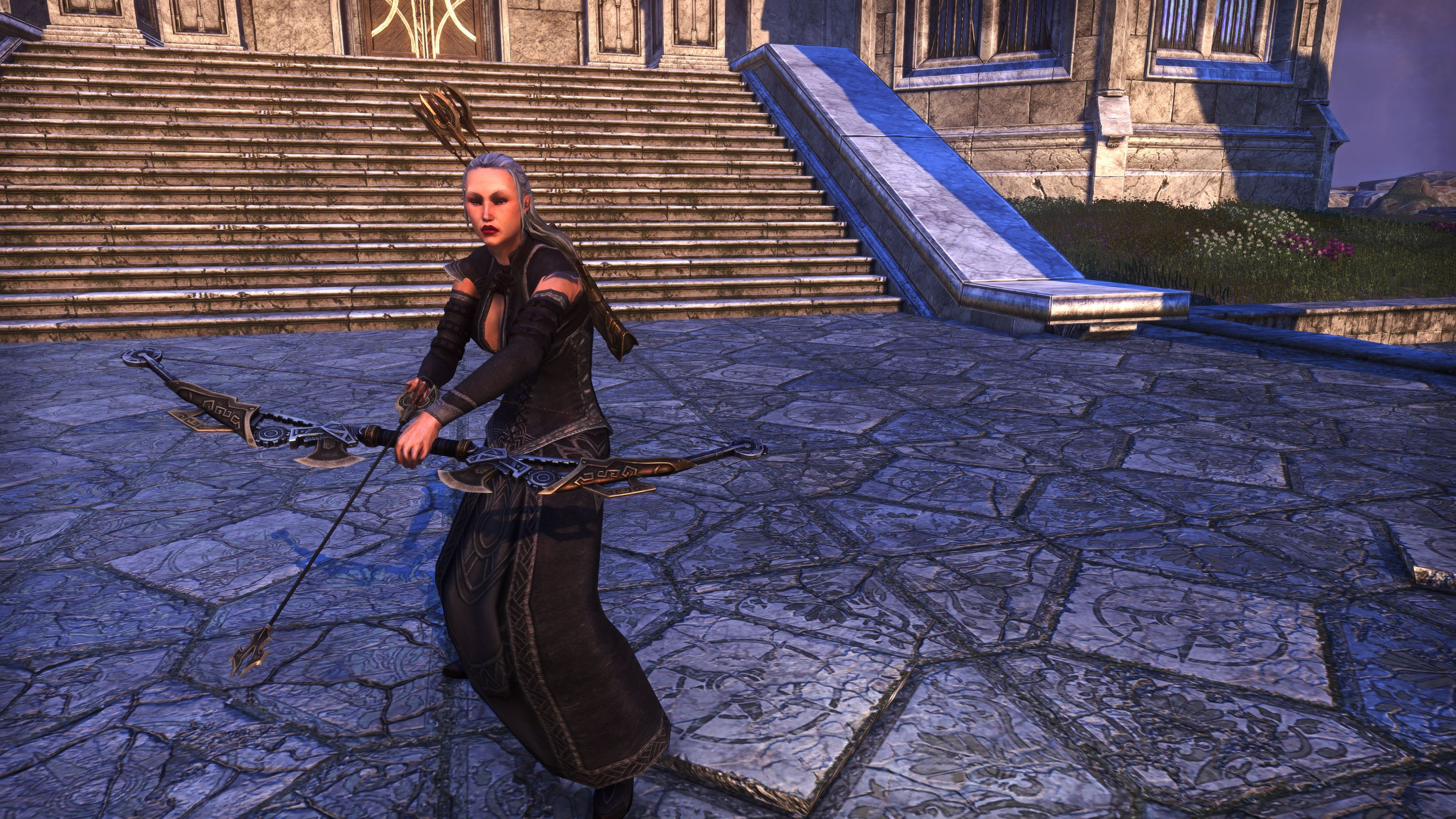 Dwarven Remnant Bow (Weapon Styles > Bow), Psijic Vault Crate, The Elder Scrolls Online