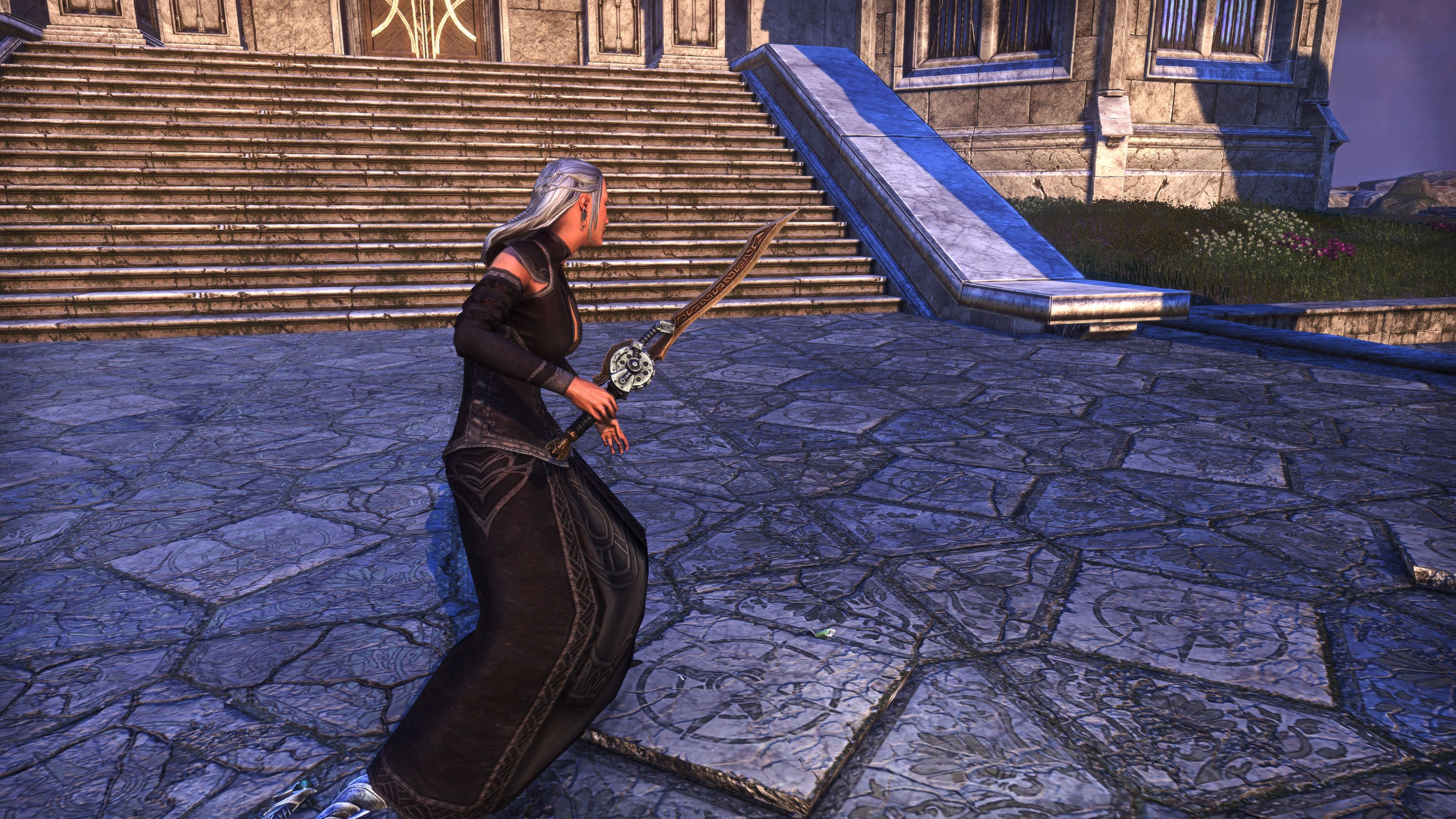Dwarven Remnant Sword (Weapon Styles > One-Handed), Psijic Vault Crate, The Elder Scrolls Online