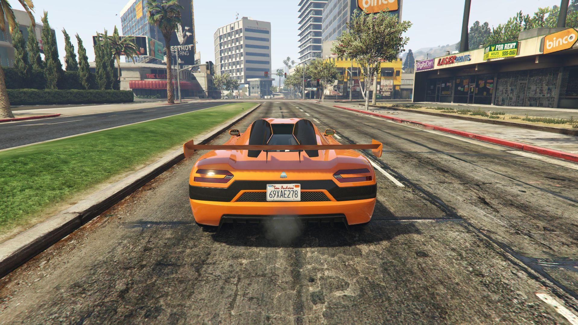 Supercars Gallery Fastest Car In Gta 5 Under 500k