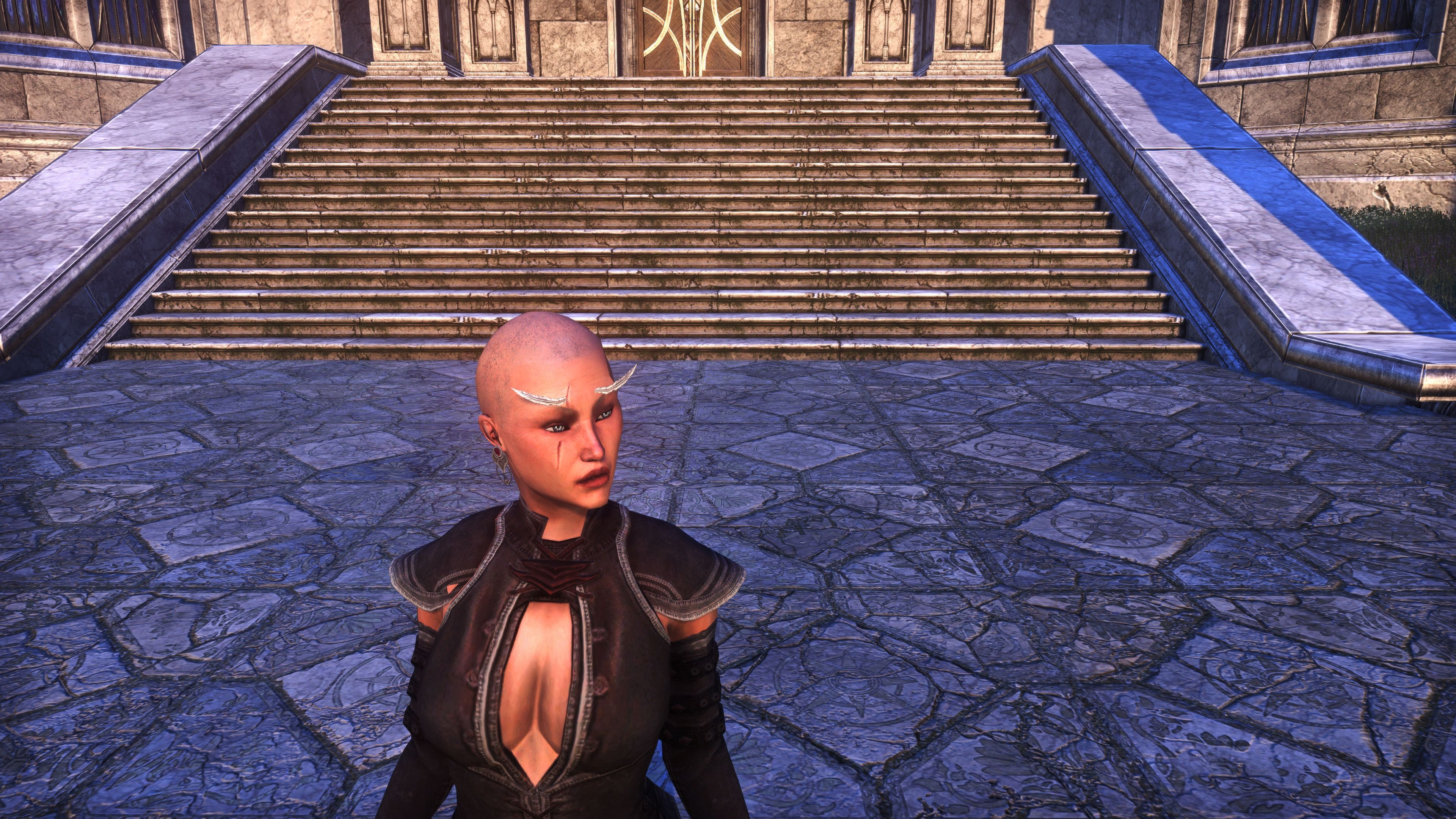 Feather Brows of Mystery (Appearance > Facial Hair), Psijic Vault Crate, The Elder Scrolls Online