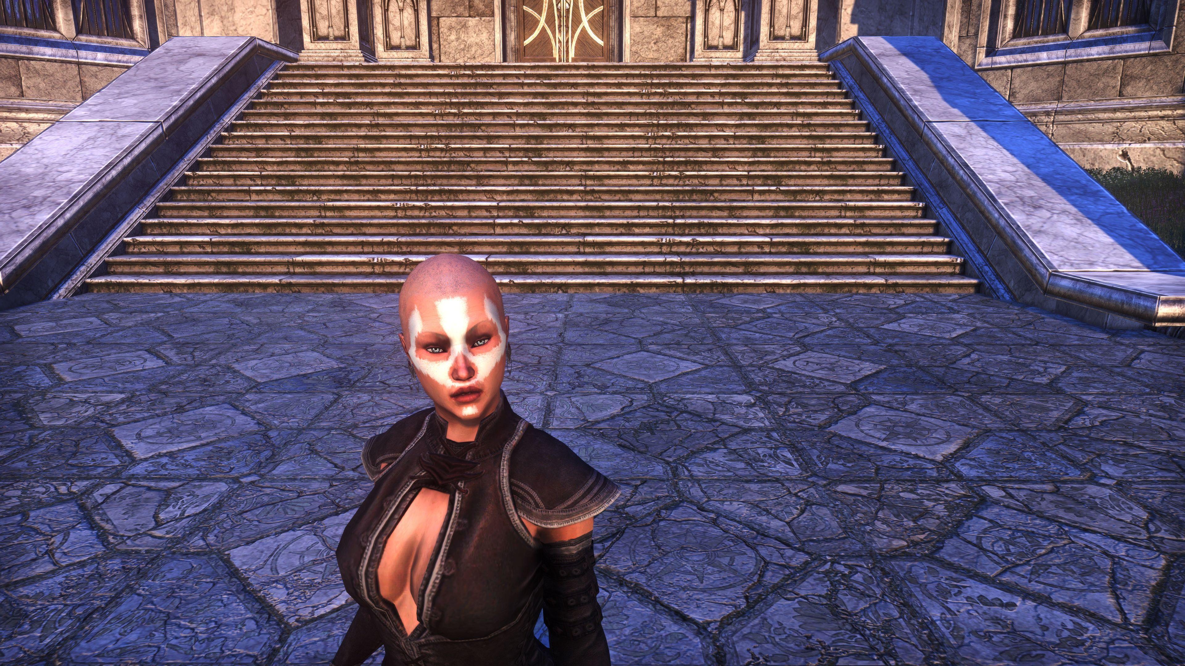 Ghost Goblin Face War Paint (Appearance > Face Markings), Psijic Vault Crate, The Elder Scrolls Online