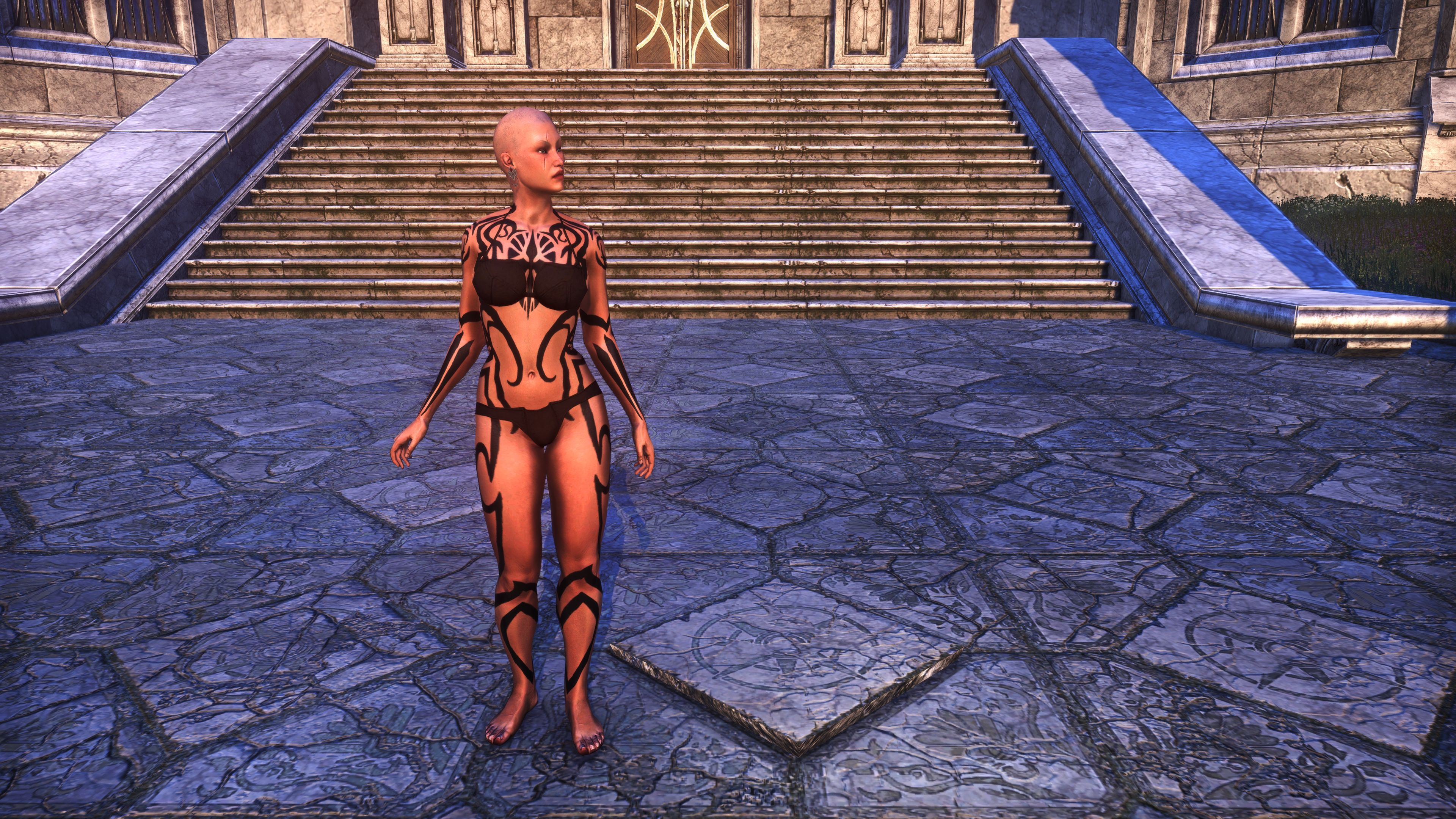 Meridian Radiance Body Tattoos (Appearance > Body Markings), Psijic Vault Crate, The Elder Scrolls Online