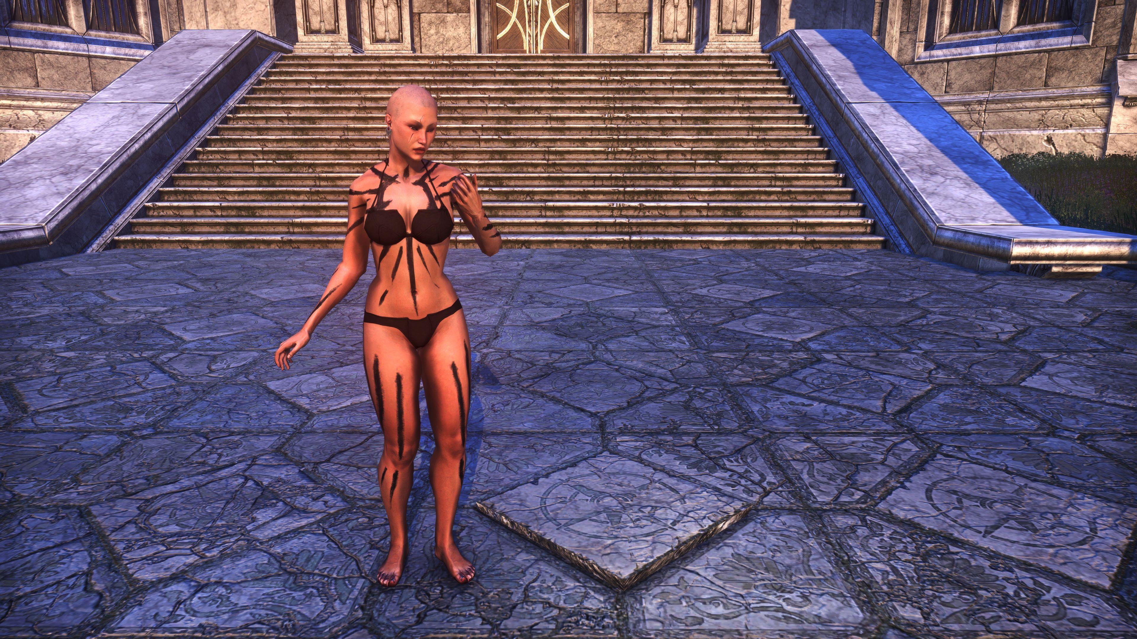 Meridian War Burst Body Markings (Appearance > Body Markings), Psijic Vault Crate, The Elder Scrolls Online