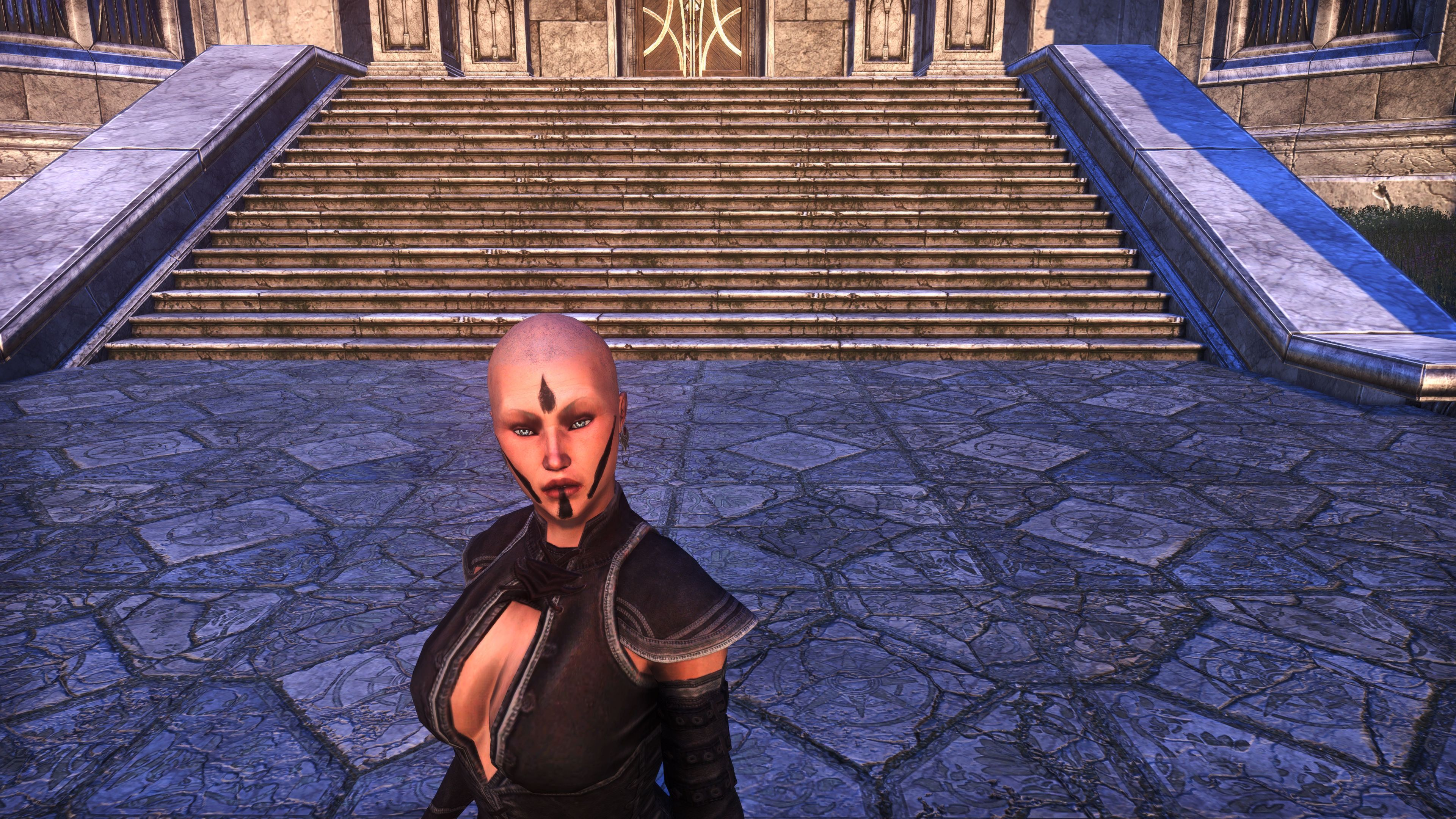 Meridian War Burst Face Markings (Appearance > Face Markings), Psijic Vault Crate, The Elder Scrolls Online