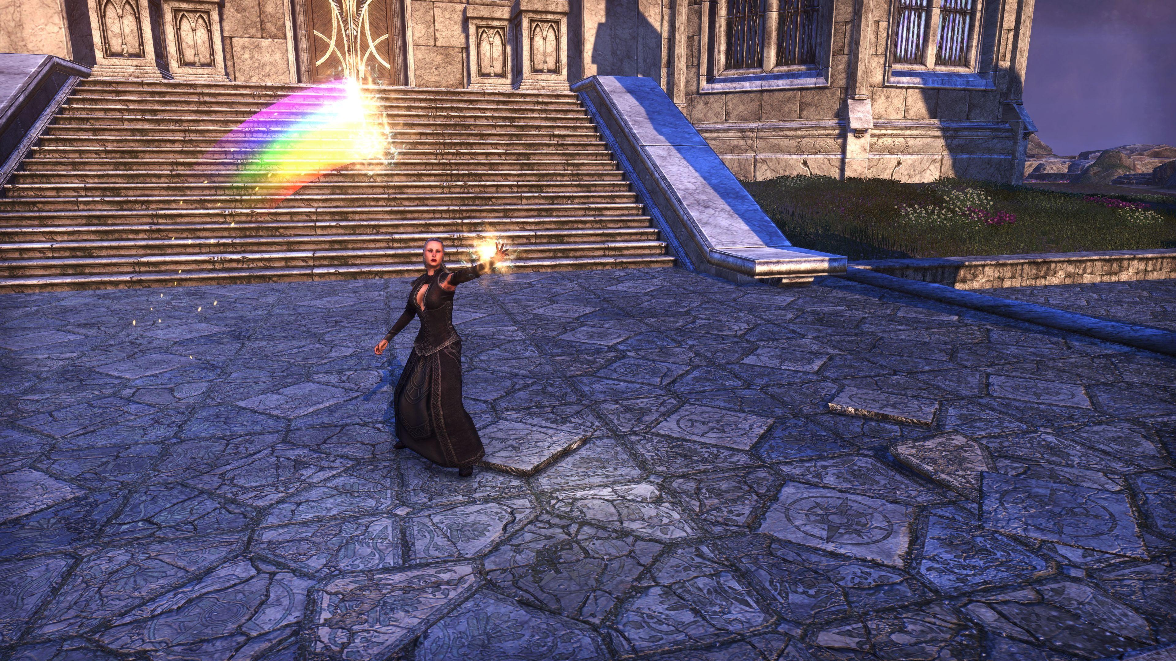 Prismatic Banner Ribbon (Memento), Psijic Vault Crate, The Elder Scrolls Online