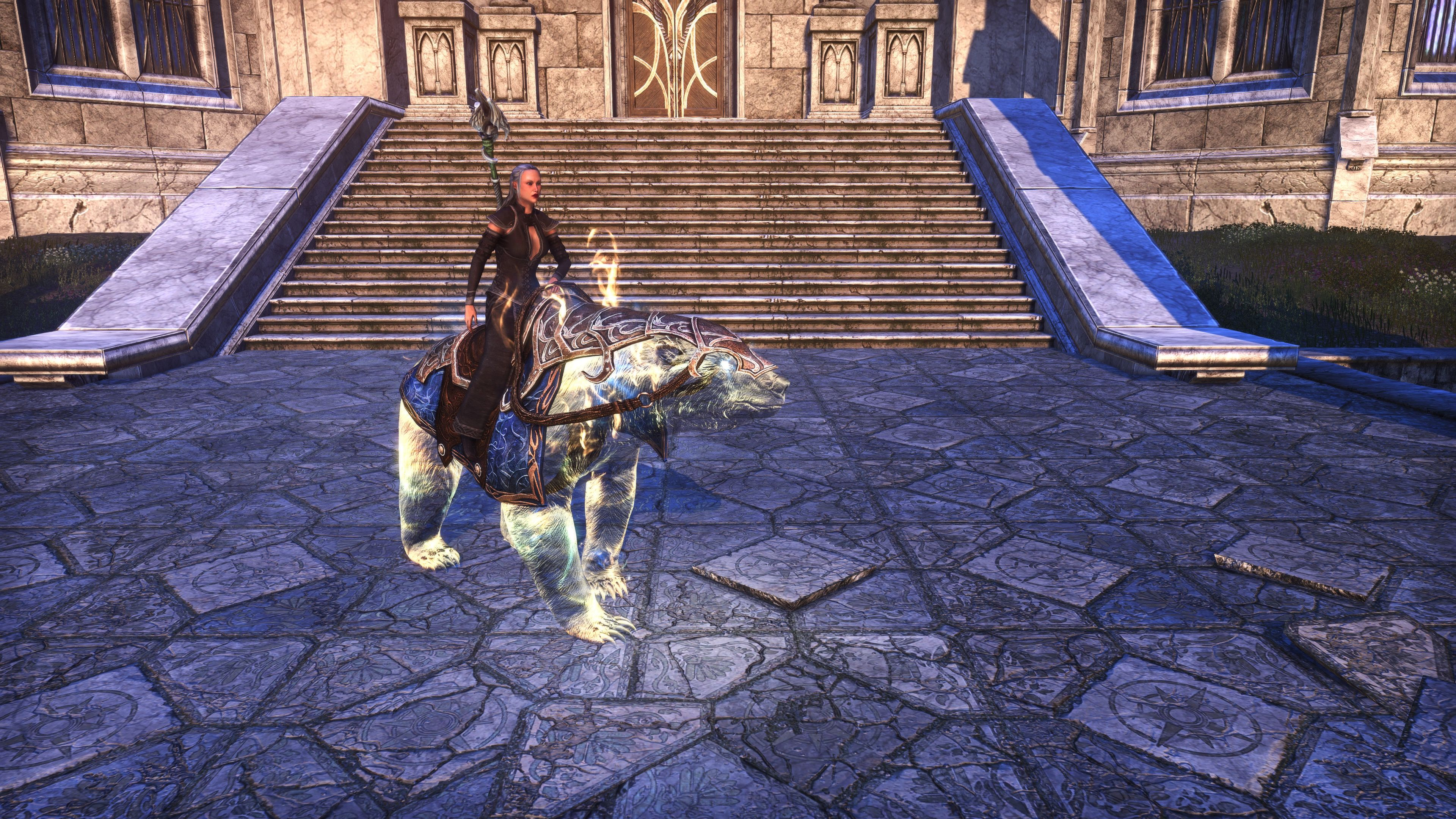 """Psijic Bear Exemplar """"Totem"""" (Mount), Psijic Vault Crate, The Elder Scrolls Online"""