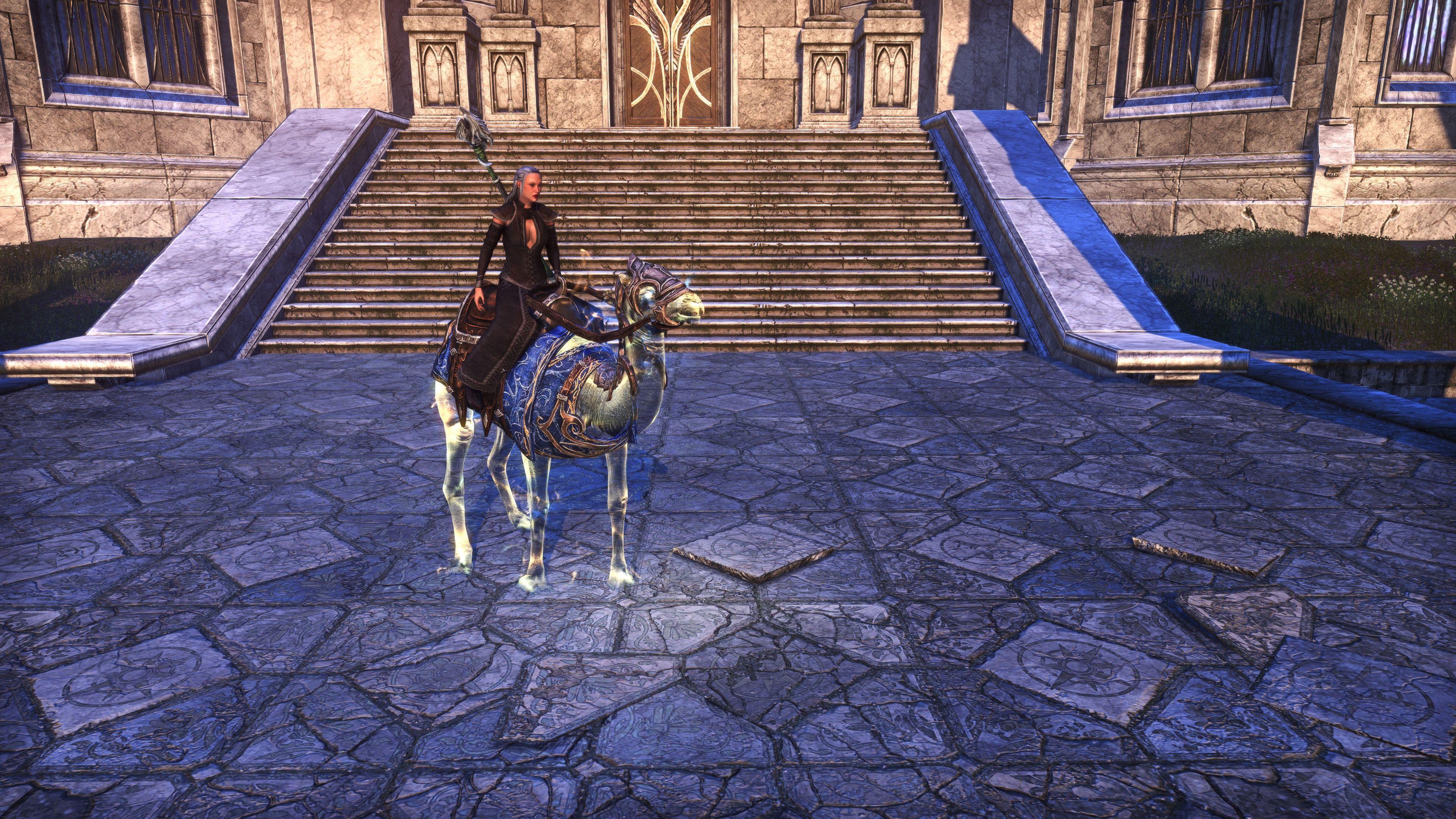 """Psijic Camel Exemplar """"Psurly"""" (Mount), Psijic Vault Crate, The Elder Scrolls Online"""