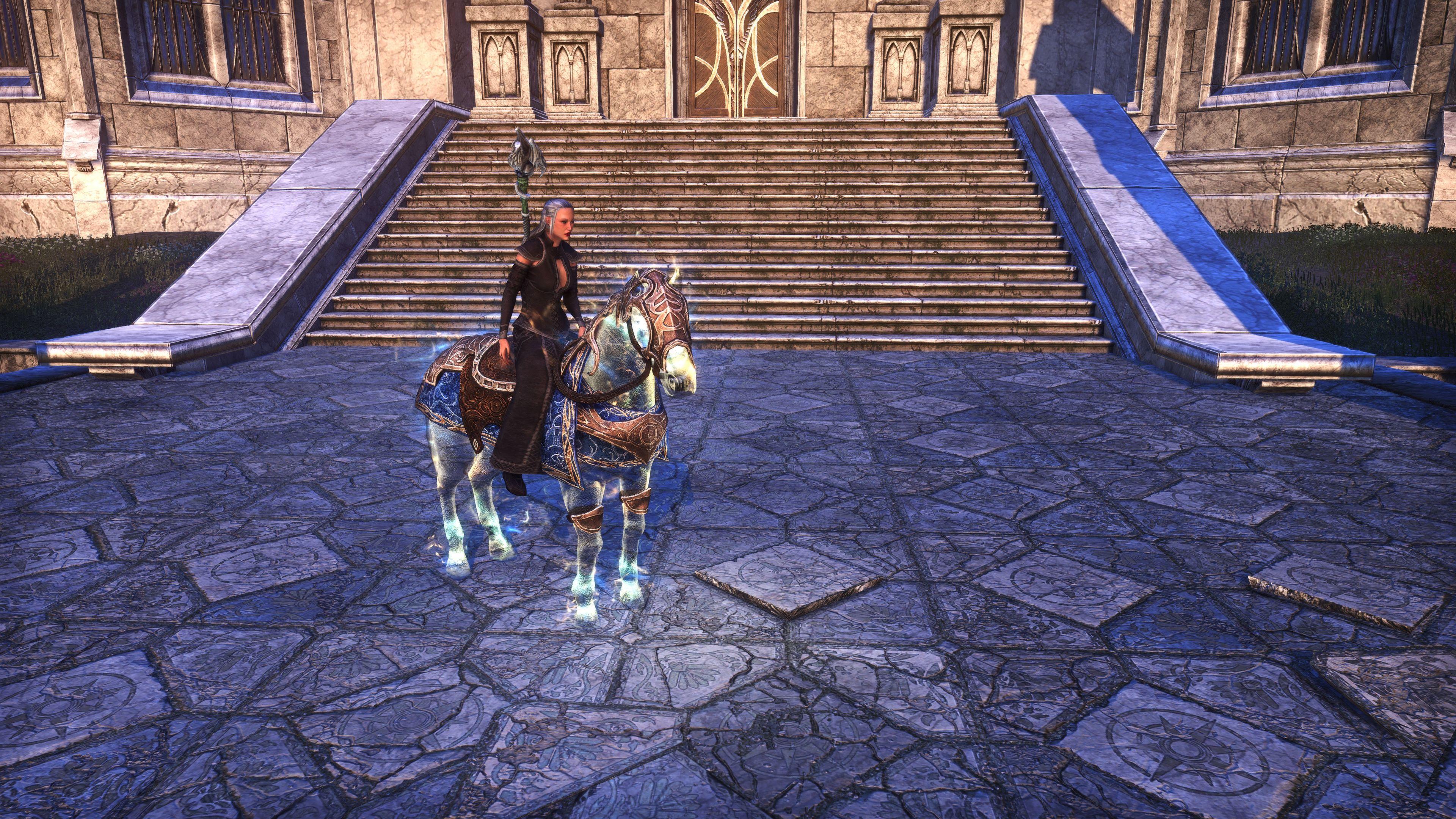 """Psijic Horse Exemplar """"Quintessence"""" (Mount), Psijic Vault Crate, The Elder Scrolls Online"""