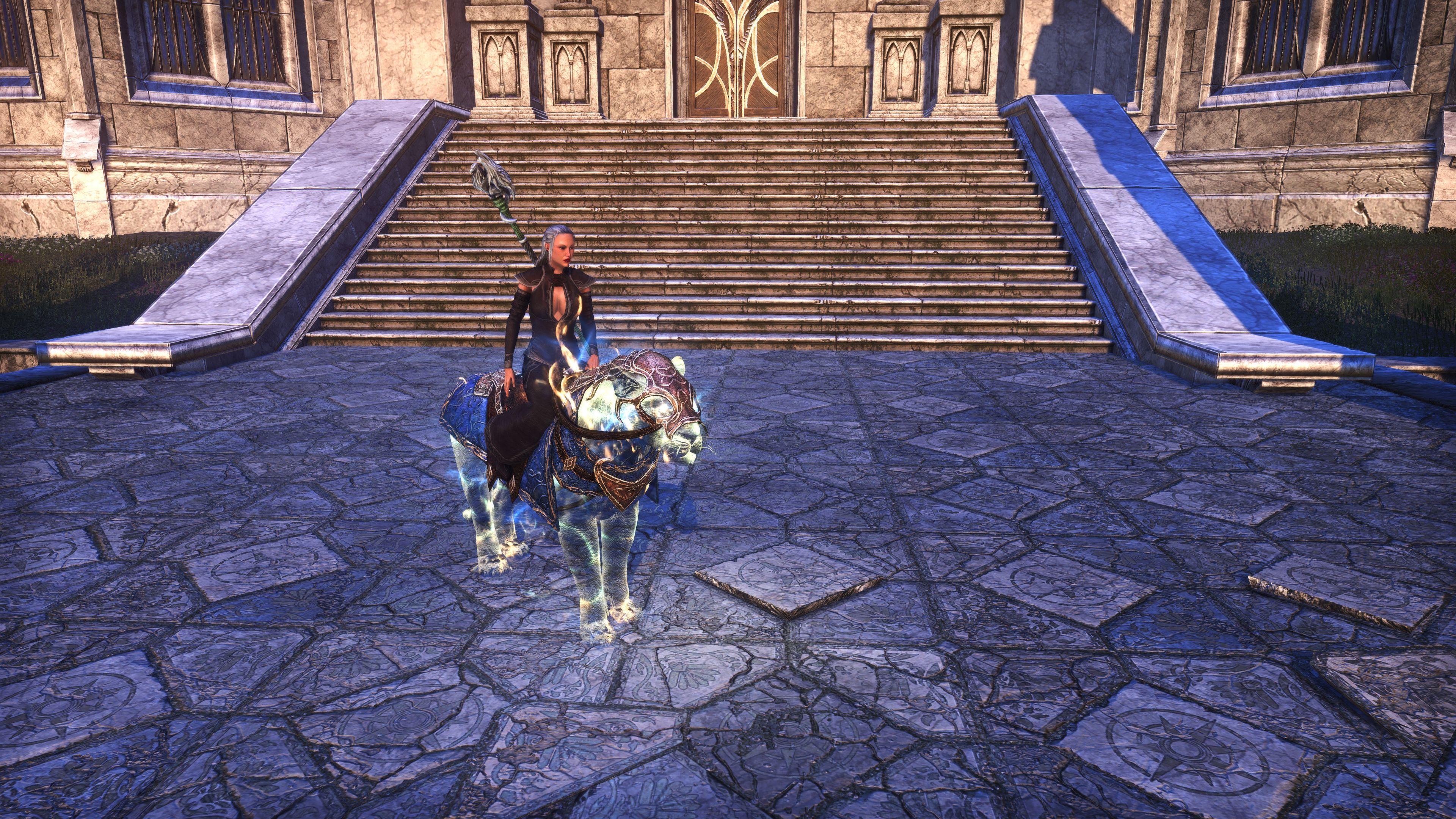 """Psijic Senche Exemplar """"Paragon"""" (Mount), Psijic Vault Crate, The Elder Scrolls Online"""