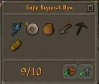 Safe Deposit Box, Old School Runescape