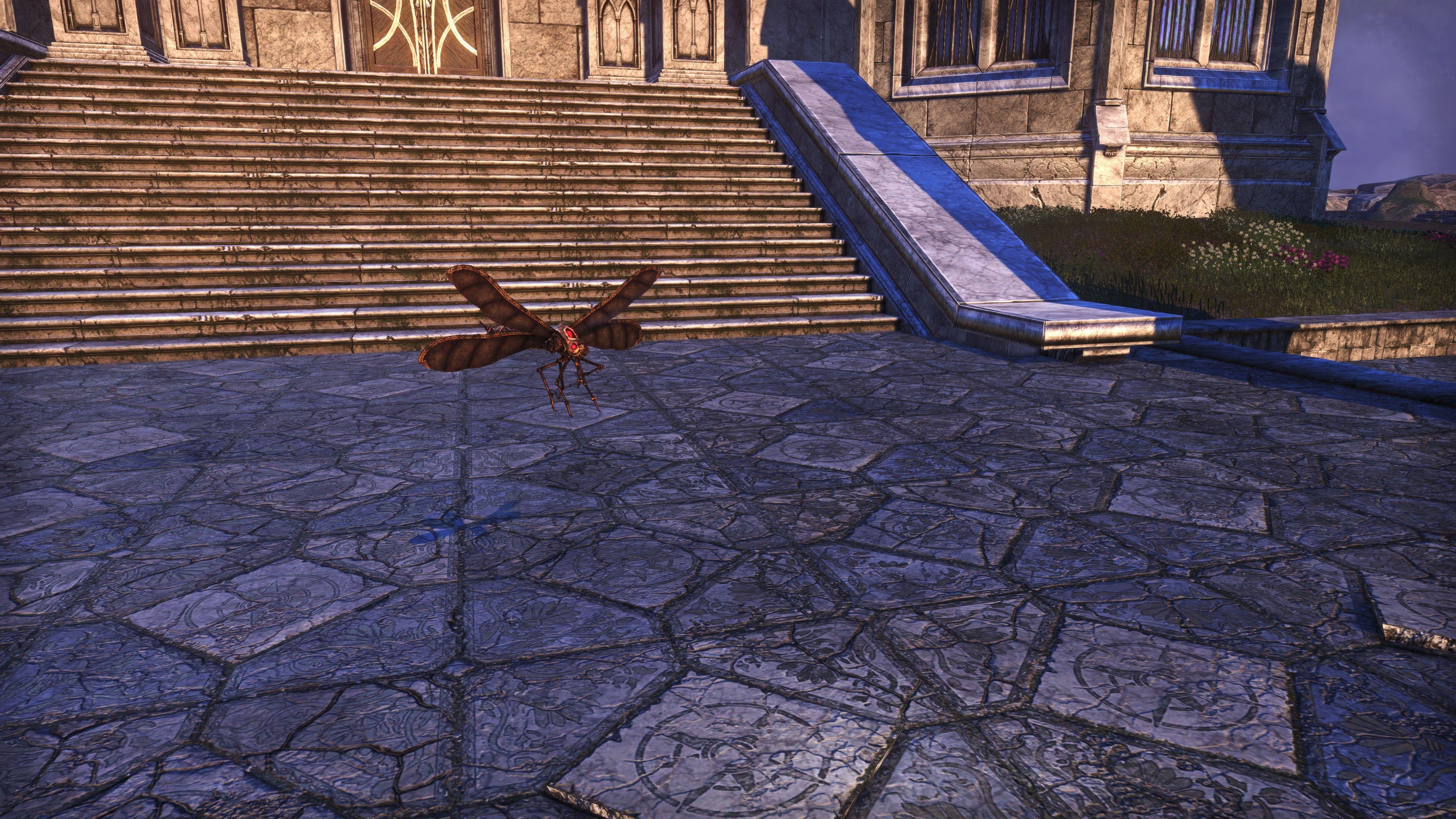 """Seht's Dovah-Fly """"Wirewing"""" (Non-Combat Pet), Psijic Vault Crate, The Elder Scrolls Online"""