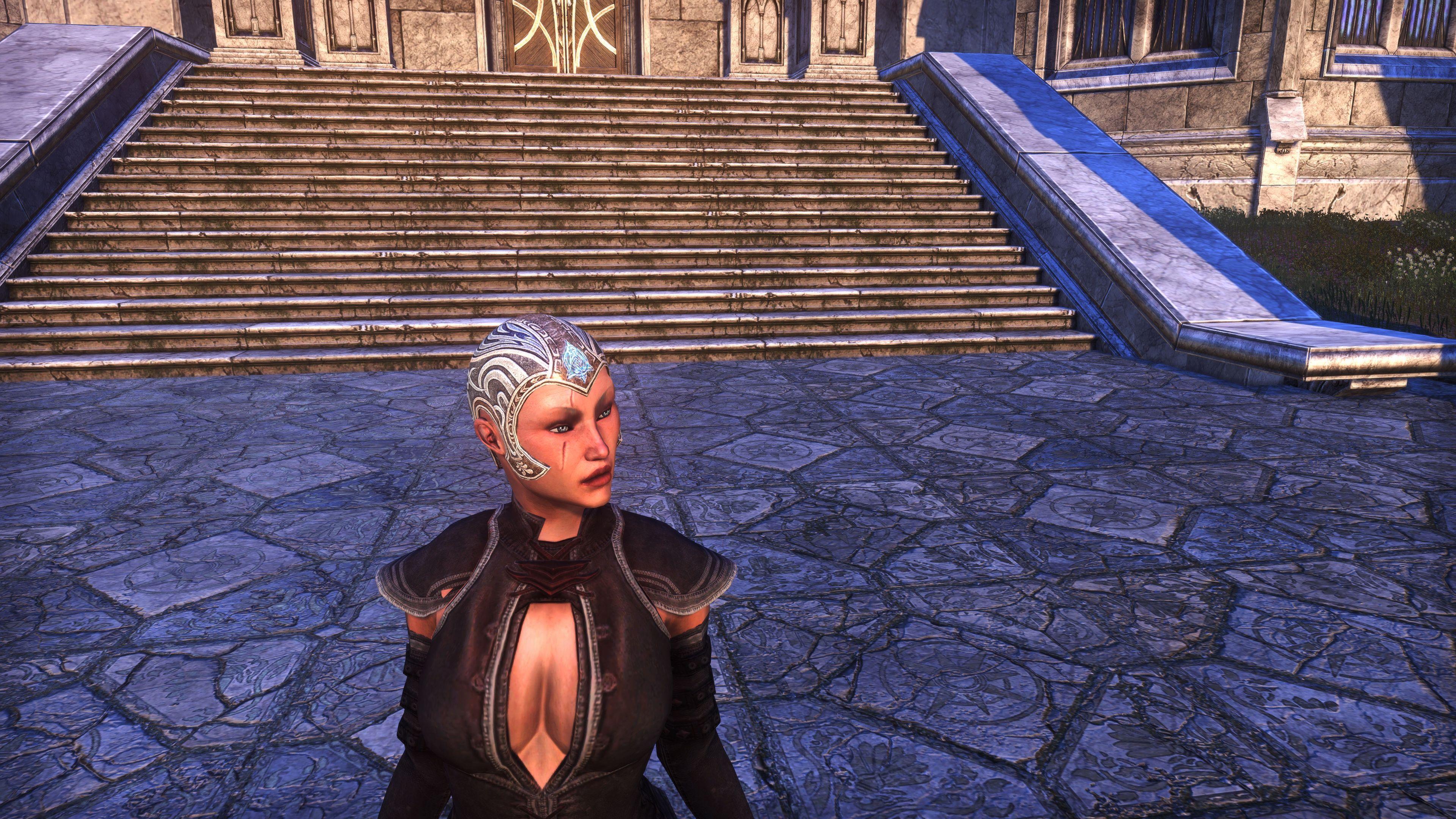 Sideburn Skullcap (Appearance > Hats), Psijic Vault Crate, The Elder Scrolls Online
