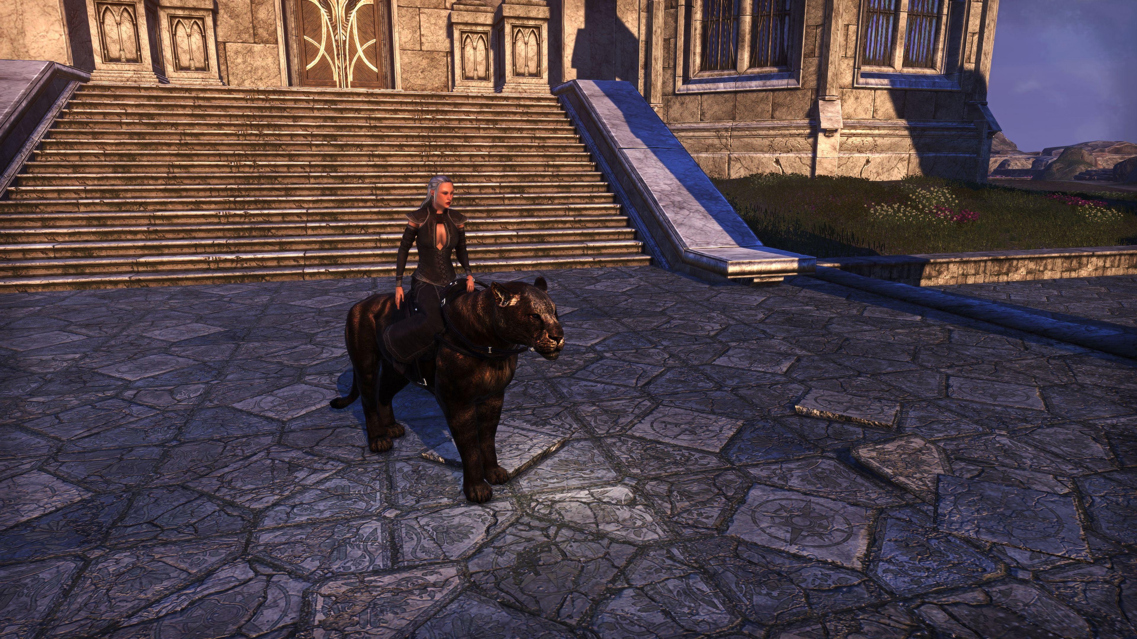 """Tenmar Senche-Tiger """"Camo Cat"""" (Mount), Psijic Vault Crate, The Elder Scrolls Online"""