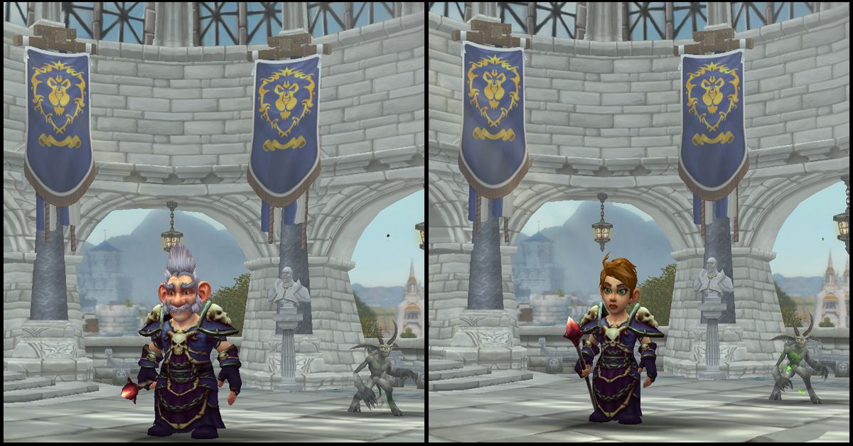 Male & Female Gnome,World of Warcraft Race