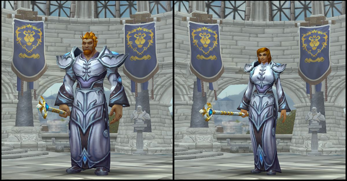 Male & Female Human,World of Warcraft Race