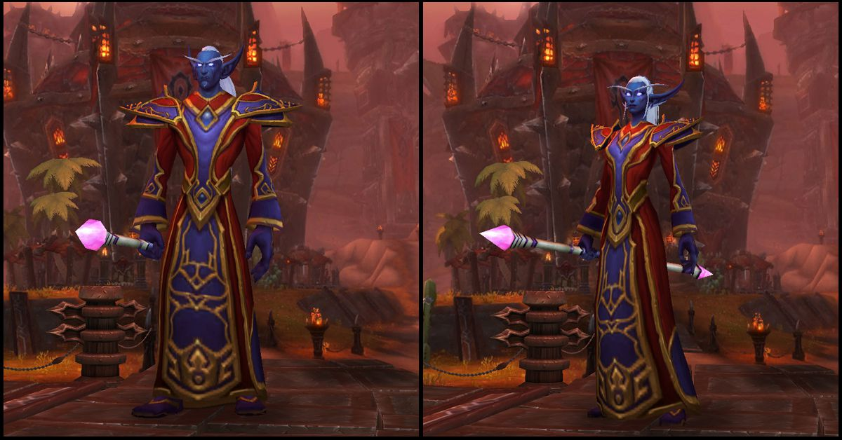 Male & Female Nightborne,World of Warcraft Race