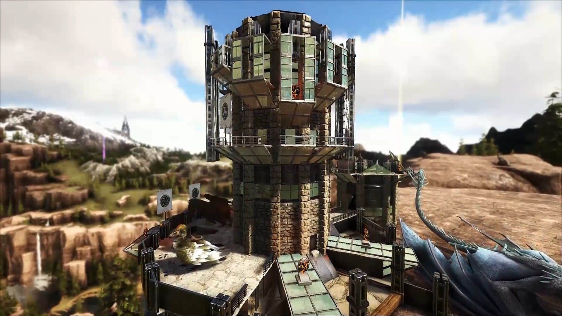 ARK: Survival Evolved - The 10 Best Base Builds / Designs
