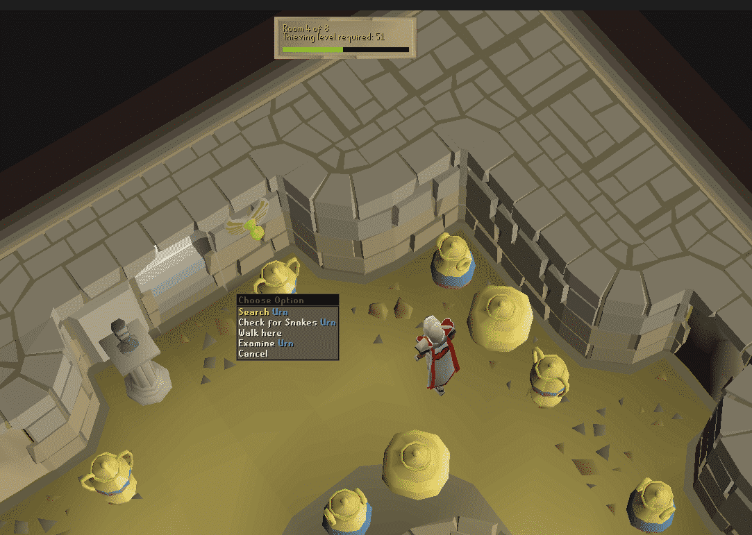 Searching Urns, Old School Runescape