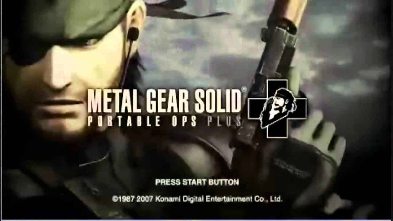 Metal Gear games. List of all Metal Gear video games.